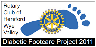 Hereford Wye Valley Rotary Footcare project